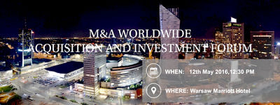 M&A Worldwide Investment & Acquisition Forum