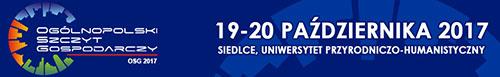 III edycja Ogólnopolskiego Szczytu Gospodarczego OSG 2017