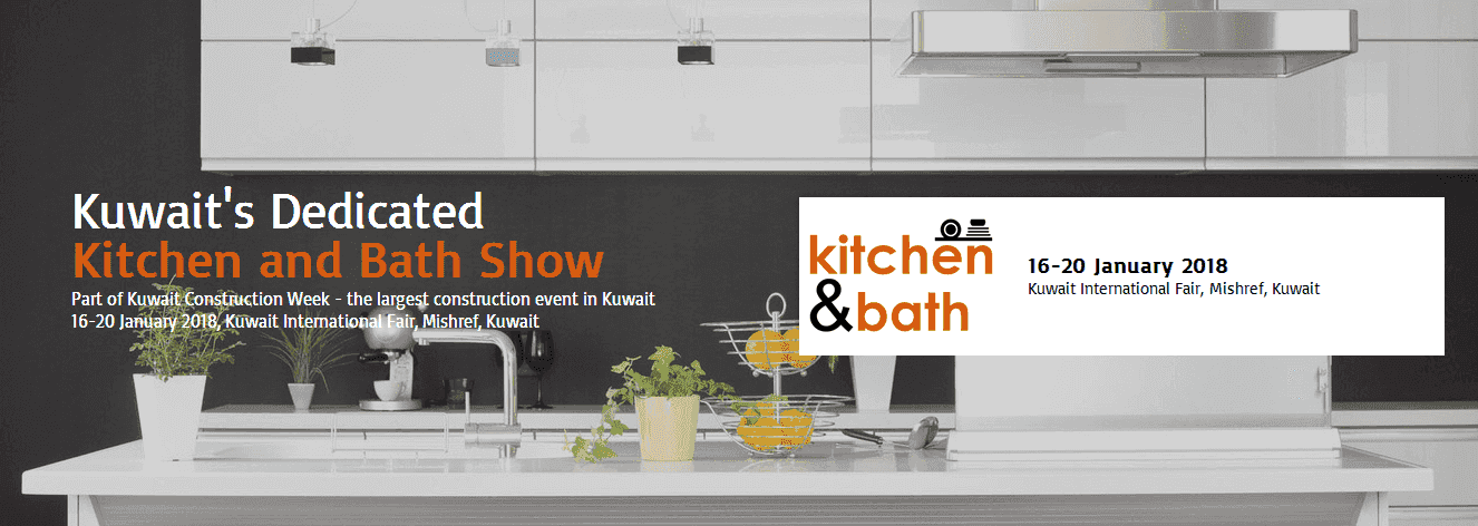 Kitchen and Bath Kuwejt 2018