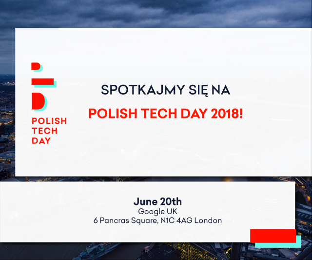 20180518_Polish Tech Day in London
