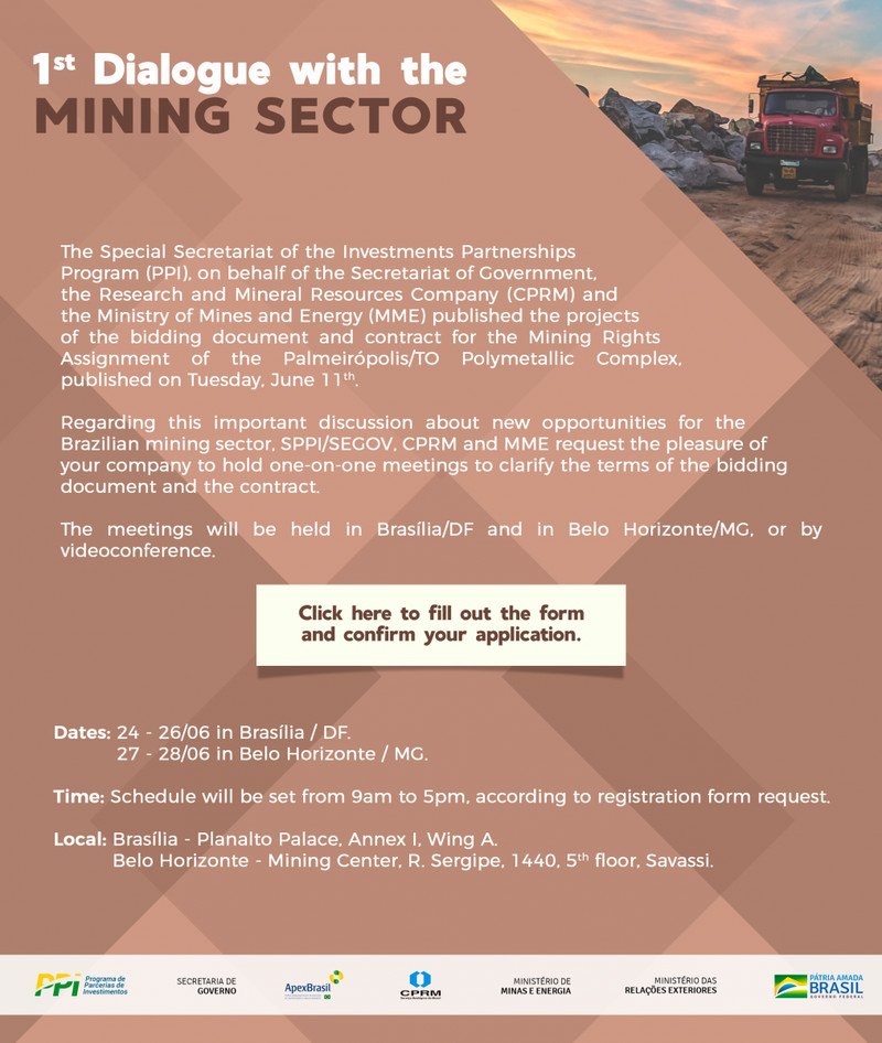 Dialogue with the mining sector