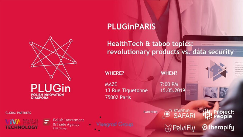 PLUGin Paris - HealthTech and taboo topics