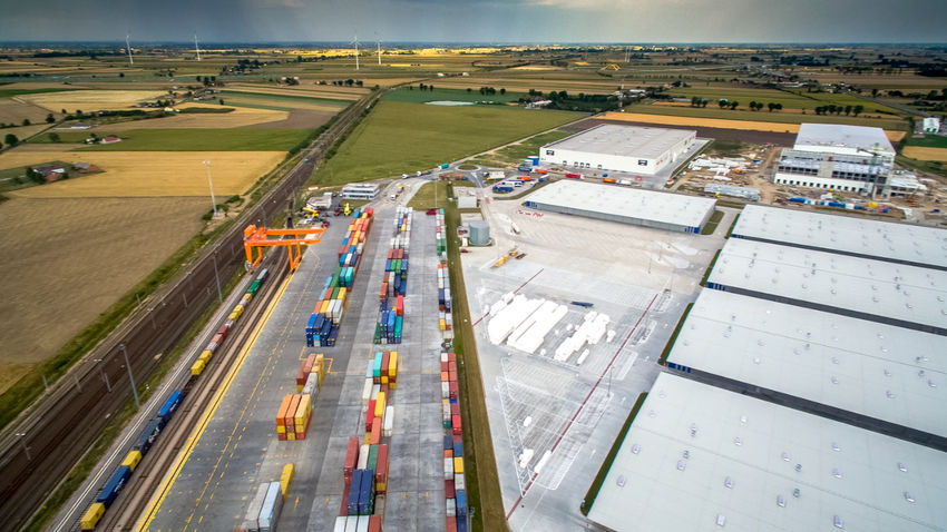 Intermodal Container Terminal (photo: Kutno City Hall)