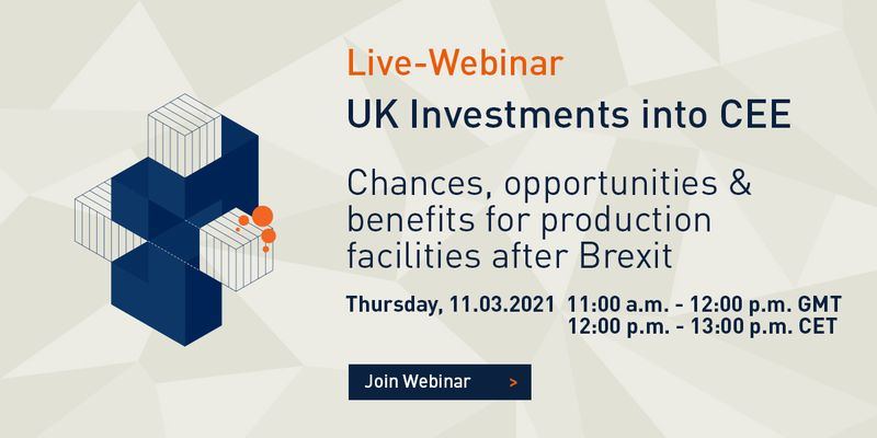 Webinar UK Investments into CEE